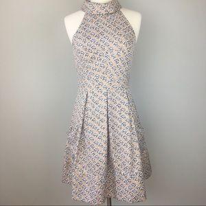 Jessica Simpson | Chain Fit n Flare Dress Pockets